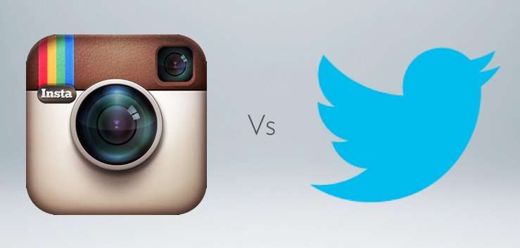 Instagram vs Twitter