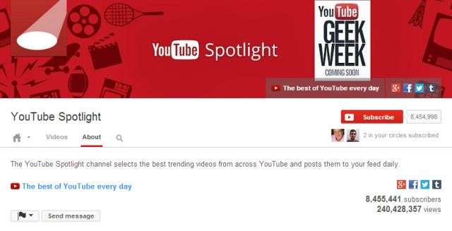 YouTube Spotlight