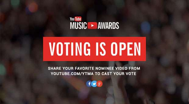 youtube music award 2013 is now open for voting. Black Bedroom Furniture Sets. Home Design Ideas