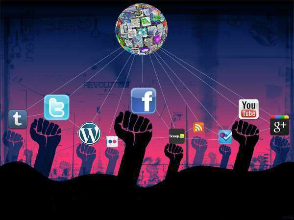 global revolution through social media The online conversation about the occupy wall street movement turned global over the weekend as protesters provided live twitter updates, photos and videos from the dozens of demonstrations around the world using cellphones and social media tools, demonstrators shared developments in their cities.