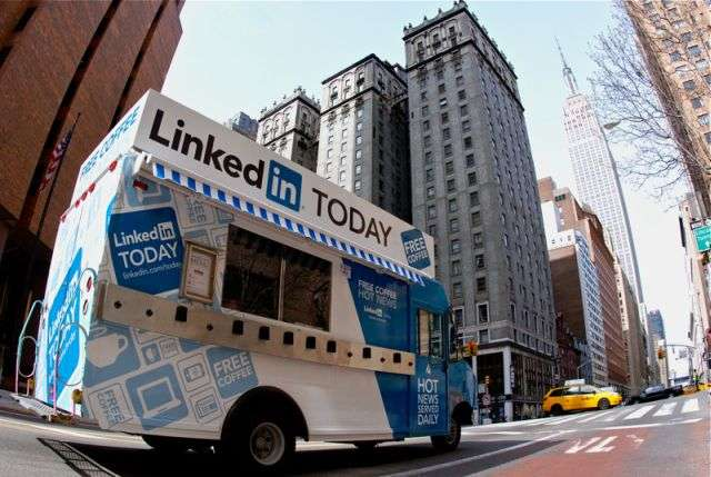 LinkedIn Today Truck-Wed