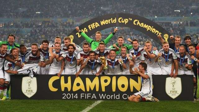 2014 FIFA World Cup Brazil Champions