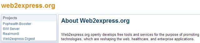 web2express