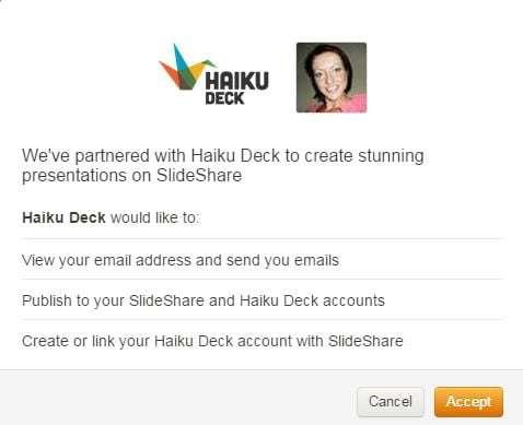 slideshare Haiku Deck