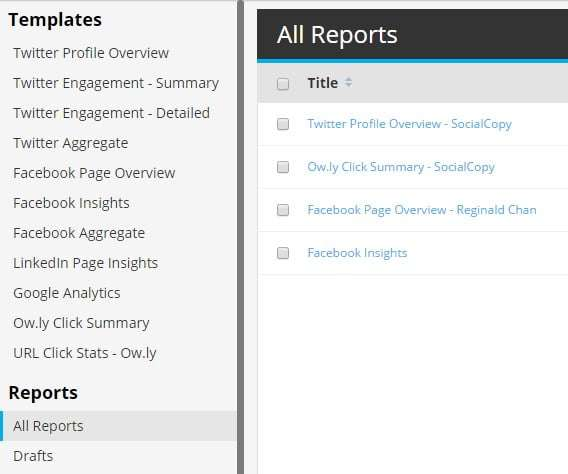 hootsuite analytics and reports