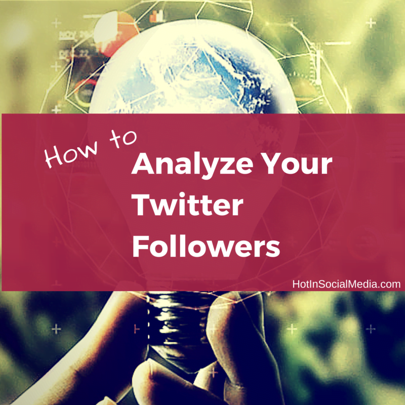How To Analyze Twitter Followers