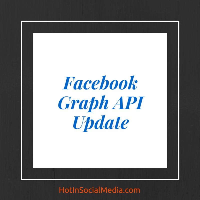 facebook graph api update