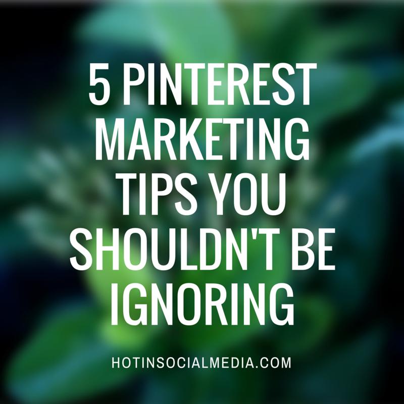 pinterest marketing tips