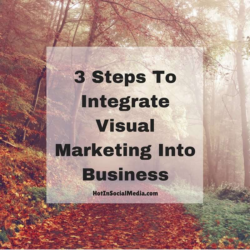 3 Steps To Integrate Visual Marketing Into Business