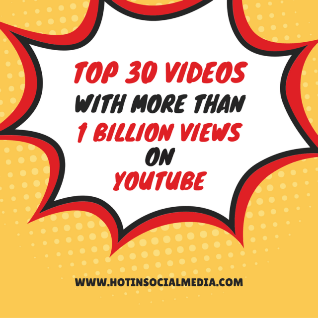 HotinSocialMedia_Top_30_Videos_with_more_than_1_Billion_Views_YouTube