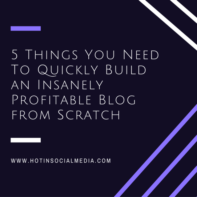 hotinsocialmedia_5_things_you_need_to_quickly_build_an_insanely_profitable_blog_from_scratch