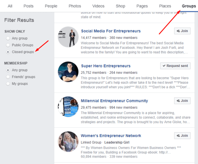How To View Secret Facebook Groups?