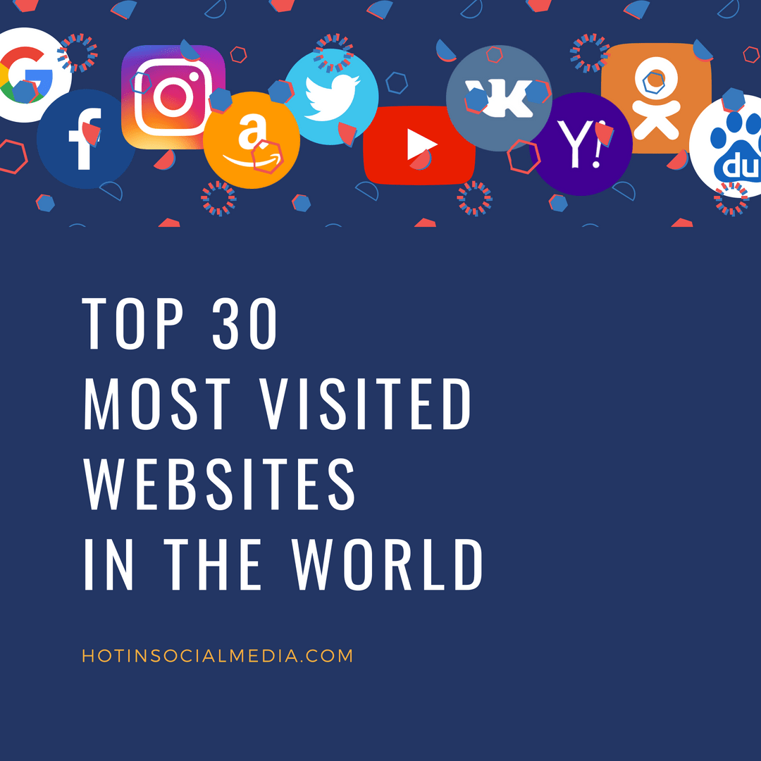 Top 30 Most Visited Websites In The World - 2018 Edition-1462