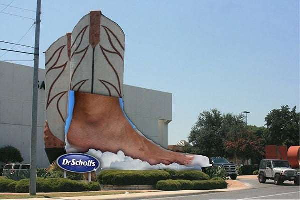 Dr. Scholl's Guerrilla Marketing