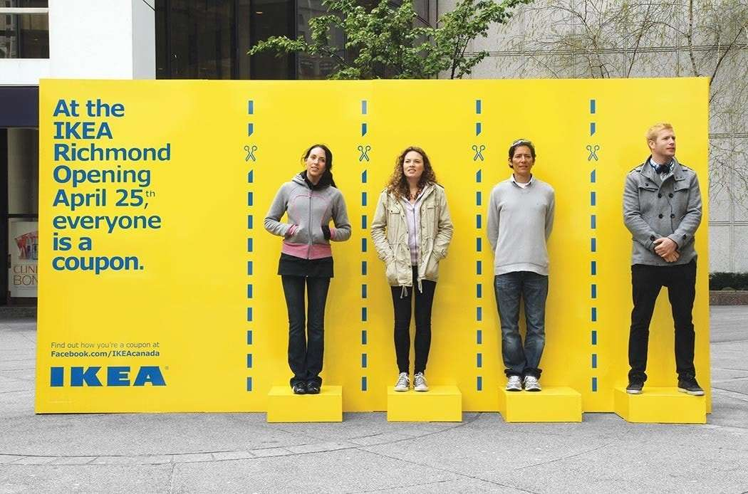 "IKEA ""human coupons"""