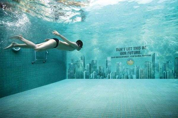 Stop global warming ad