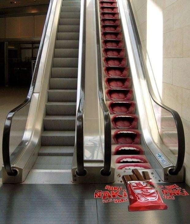 Kit Kat ad campaign