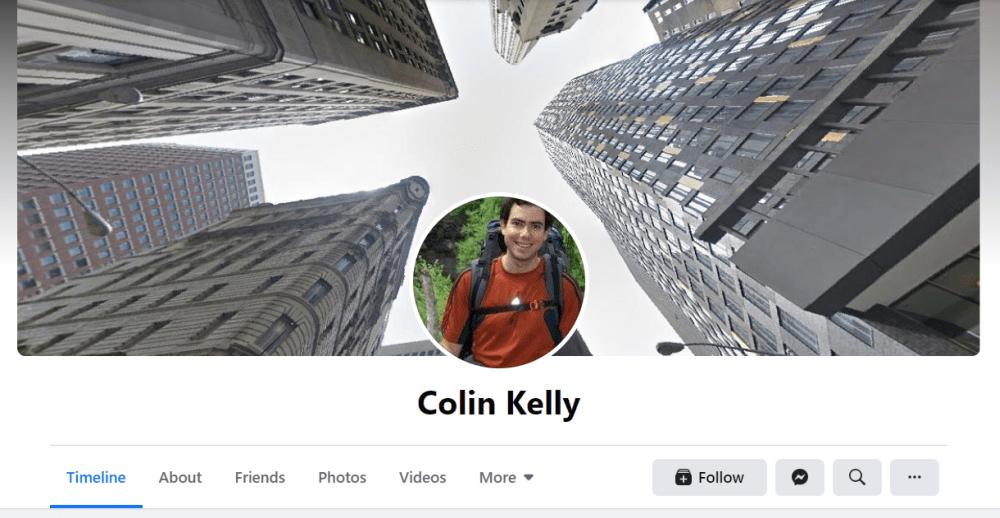 Colin Kelly - Hot in Social Media