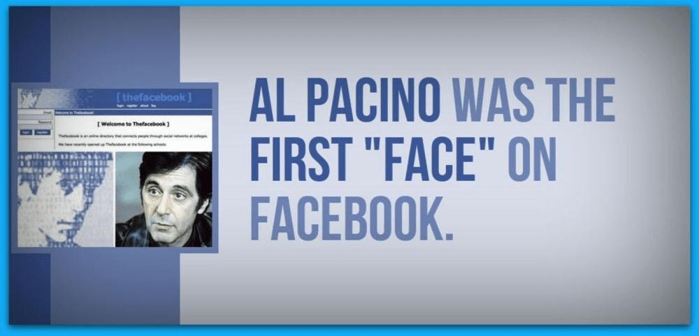 First Facebook Page - Al Pacino