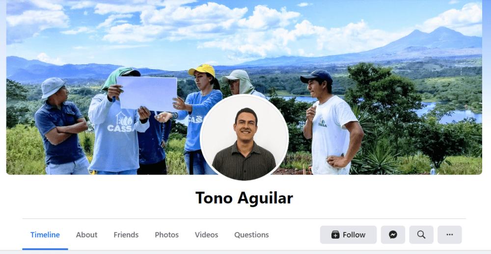 Manuel Antonio Aguilar - Hot in Social Media