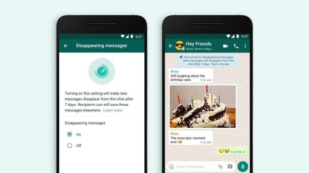 Disappearing Messages Come to WhatsApp