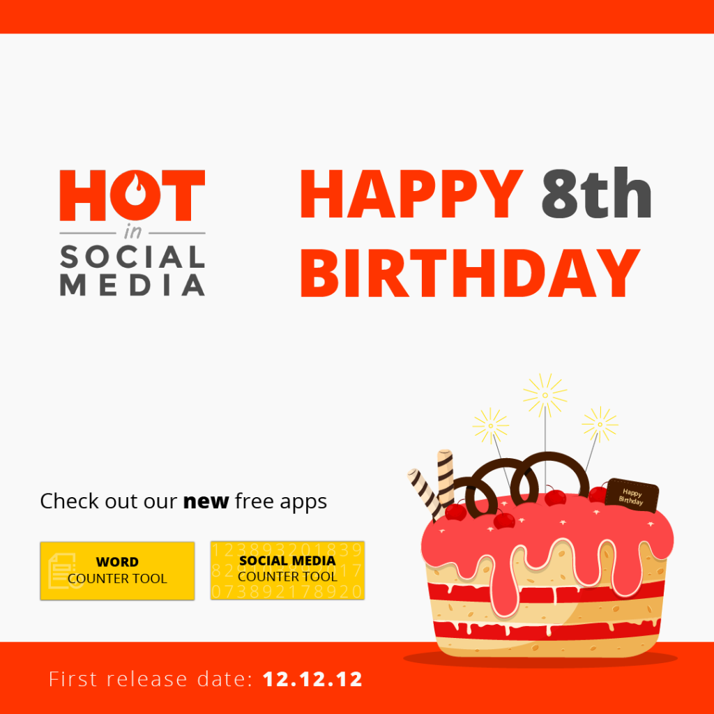 8 Years of Hot in Social Media